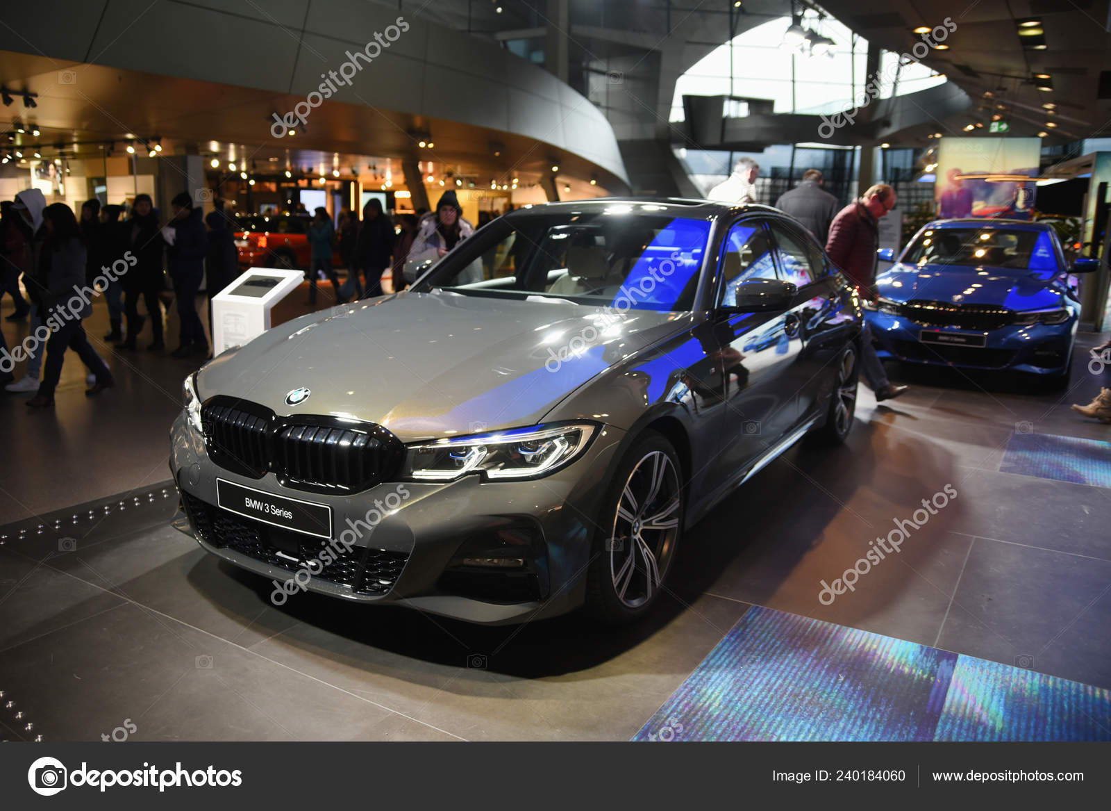 Munich, Germany - December 16, 2018: Exhibition of new