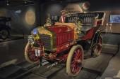 Riga, Lettország-február 18, 2019:1903 Krastin a rigai Motormúzeumban