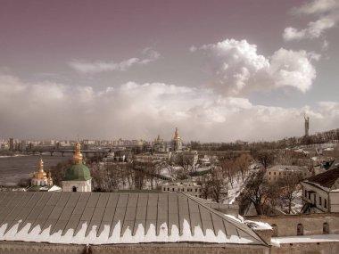 Panorama of Kiev-Pechersk Lavra