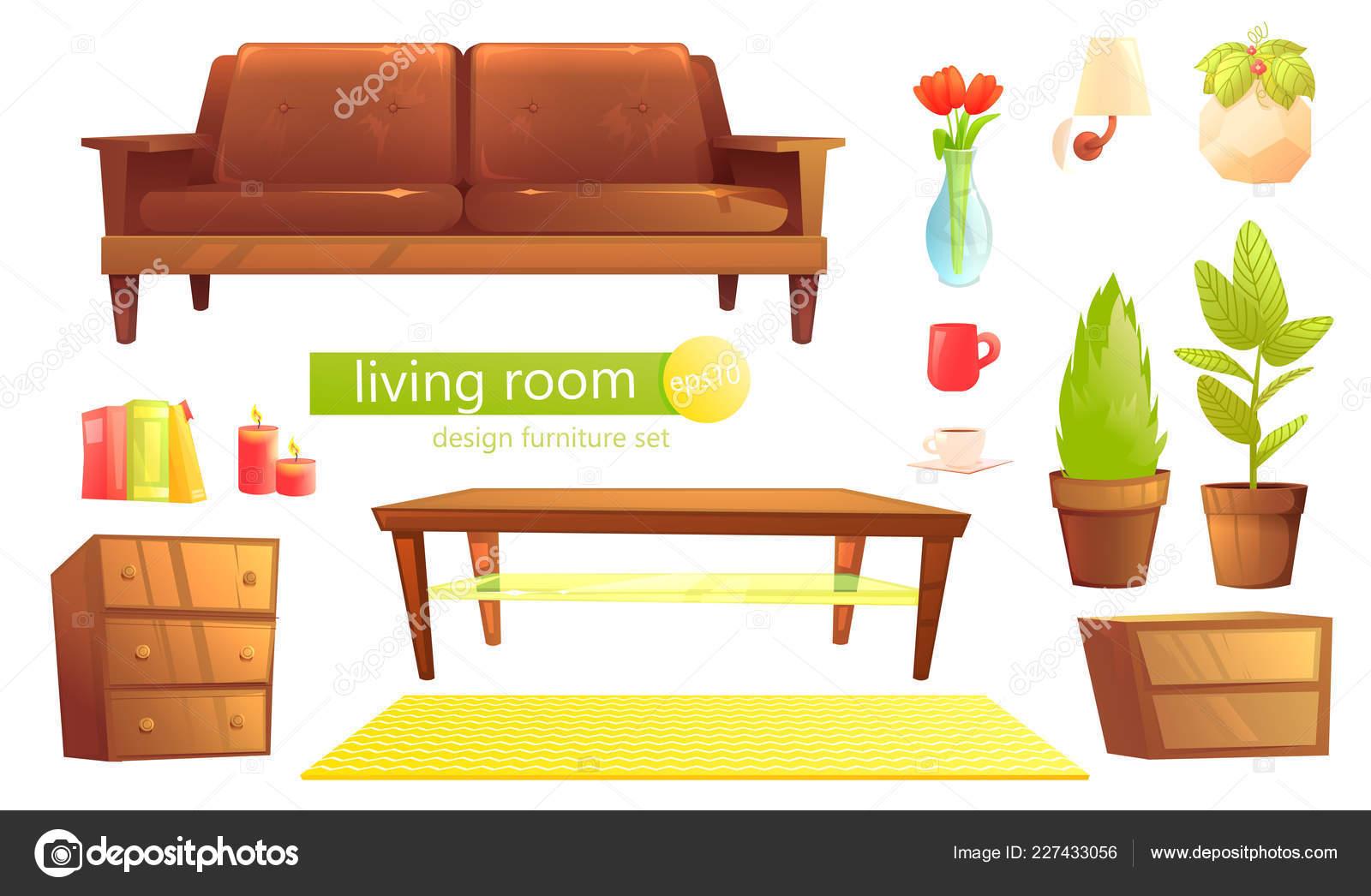 Möbel Design Gesetzt Modernes Sofa Und Stühle Mit Einer Decke