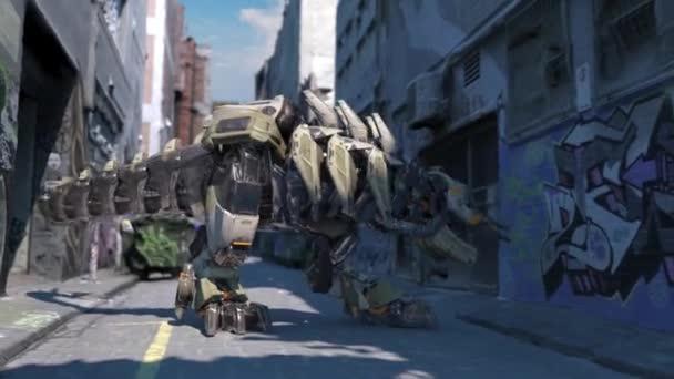 Mechrex robot vyhledat animaci 3D vykreslování