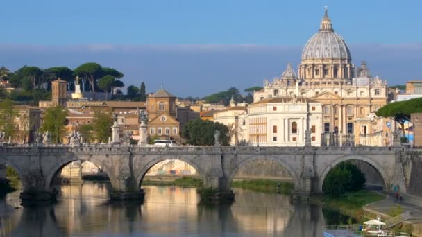 Rome Skyline with St Peter Basilica of Vatican