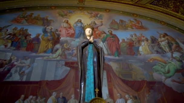 Mária szobra a Vatikáni Múzeumban, Róma, Olaszország