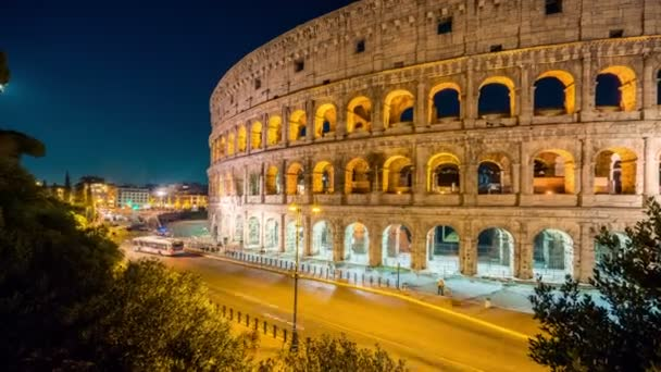 Time lapse of Rome Colosseum in Italy