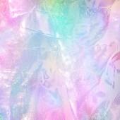"""Постер, картина, фотообои """"Абстрактные Радуга голографической фольги текстуры. Модные волшебный фон с пастельные тона"""""""