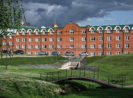 The famous Holy Trinity-St. Sergius Lavra, Sergiev Posad, Russia
