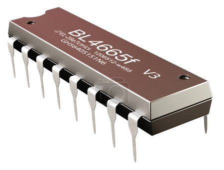 Integrated circuit or micro chip and new technologies on isolated.