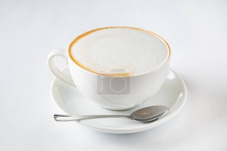 Photo for Cup of cappuccino, close up - Royalty Free Image