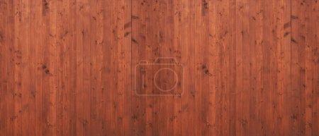 Photo pour Fond en bois de planche. Texture de clôture en bois brun - image libre de droit