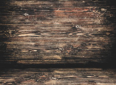 Photo for Weathered old wood texture. Grunge dirty background - Royalty Free Image