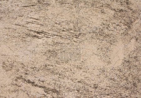 Photo for Grunge background with old stucco wall texture of beige color - Royalty Free Image
