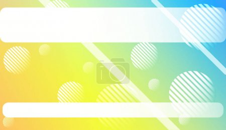 Illustration for Blurred Gradient Texture Background with Line, Circle. For Ad, Presentation, Card. Vector Illustration - Royalty Free Image