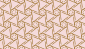 Original interior background in triangles style Vector illustration For you home interior wallpaper fashion print Light Beige color