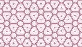 Vector Seamless illustration with pattern in triangles style Curved line Decorative design for For interior wallpaper smart design fashion print
