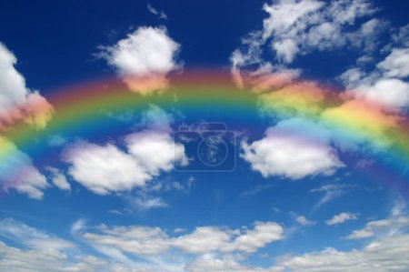 Photo for A bright rainbow in the sky - Royalty Free Image