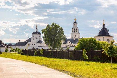 View on Sviyazhsk Assumption Monastery on summer sunny day