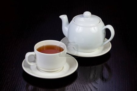 Photo for Hot cup of black tea - Royalty Free Image
