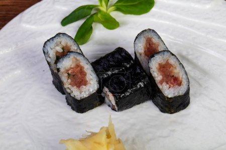 Japanese Maki roll with Tuna