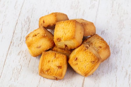 Sweet tasty hot coockies pastrie
