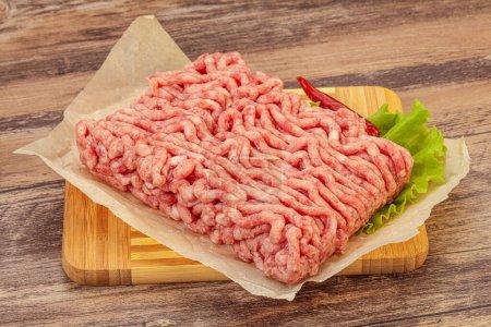 Hackfleisch - Schweinefleisch und Rindfleisch - zum Kochen