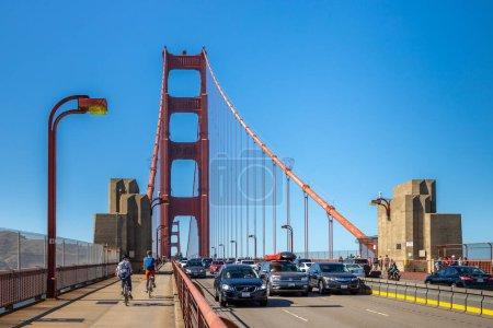 Photo for SAN FRANCISCO, USA - MARCH 29, 2020: Golden Gate Bridge in San Francisco, California, USA - Royalty Free Image