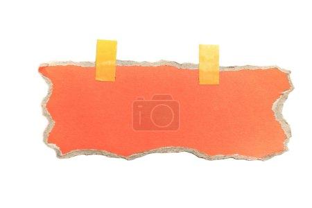 Foto de Fondo de papel rasgado para publicidad o banner mensaje - Imagen libre de derechos