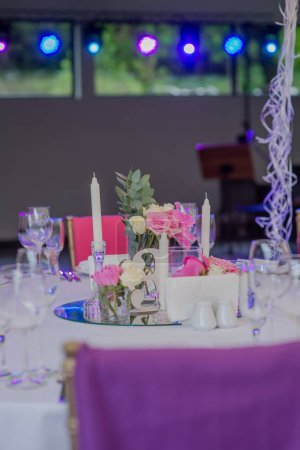 Photo for Wedding decorations and flowers - Royalty Free Image
