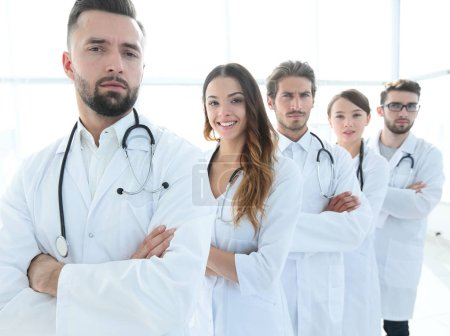 Photo for Professional team of doctors therapists.the concept of health - Royalty Free Image