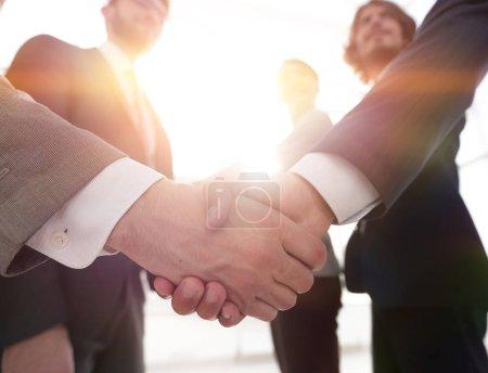 business concept handshake business people