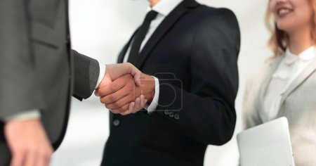 Photo for Business team discussing project. - Royalty Free Image