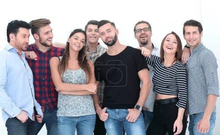 Foto de Retrato de negocio creativo team.isolated foto con espacio de copia - Imagen libre de derechos