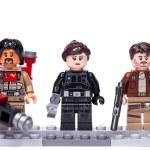 RUSSIA, April 12, 2018. Constructor Lego Star Wars...