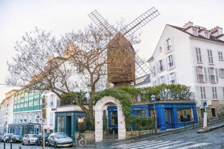 PARIS FRANCE DECEMBER 112016 Moulin