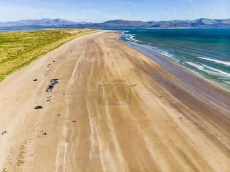 Inch beach on Dingle Peninsula, County Kerry, Ireland.