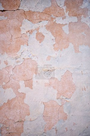 Photo pour Texture de vieux mur de stuc. Plâtre stuc fond mural - image libre de droit