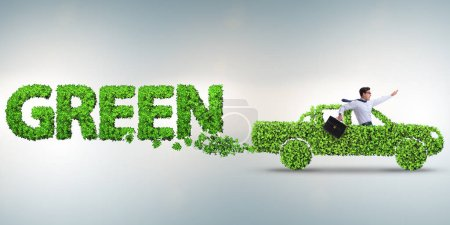Photo for Concept of clean fuel and eco friendly cars - Royalty Free Image