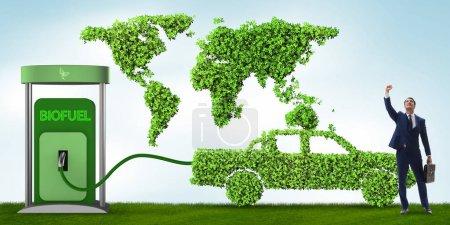 Photo pour Concept de biocarburant et préservation de l'écologie - image libre de droit