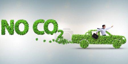 Photo pour Concept de carburant propre et de voitures écologiques - image libre de droit