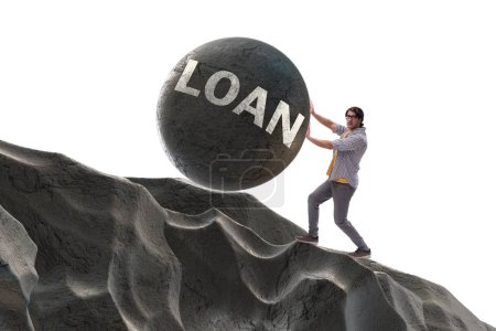 Photo for Concept of student loan and expensive education - Royalty Free Image