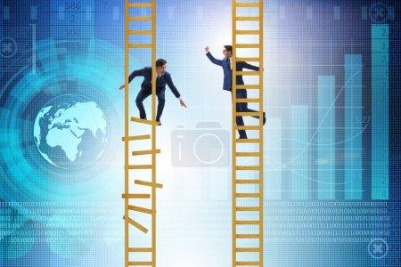 Photo pour Concours de carrière dans l'environnement des entreprises - image libre de droit