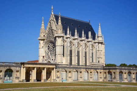Photo for Holy Chapel (1559) of Vincennes Castle in Paris, France. - Royalty Free Image