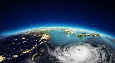 Asia from space. Elements of this image furnished by NASA. 3d rendering