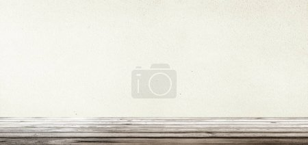 Photo for Interior texture wallpaper. Empty room 3d rendering - Royalty Free Image