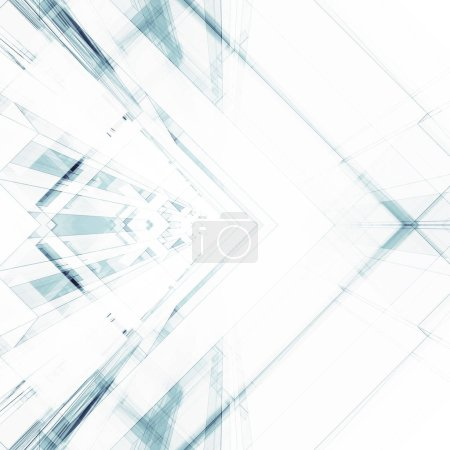 Photo for Abstract architecture background. Modern concept 3d rendering - Royalty Free Image