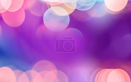 Photo pour Bokeh lumières effets arrière-plan flou - image libre de droit