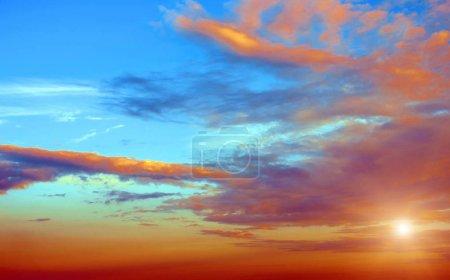 Atmosfera chmury niebo