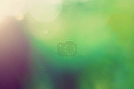 Photo pour Flou fond macro bokeh. Paysage vert parc - image libre de droit