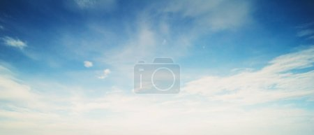 Photo for Dramatic sky and clouds summer ultramarine outdoor - Royalty Free Image