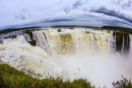The most fullflowing waterfall in
