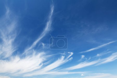 Photo for Blue sky and clouds abstract background with copy space - Royalty Free Image